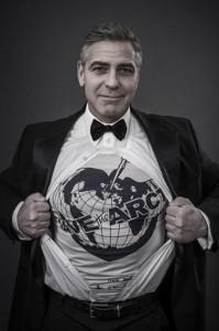 "Крис Мартин с Джорджем Клуни и другими знаменитостями в проекте ""Спасите Арктику"""